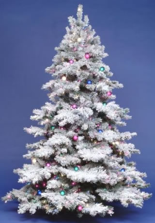 How To Flock Your Christmas Tree! – HOW2GIRL