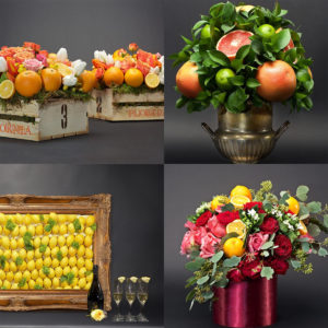 My Feature on Martha Stewart Weddings. DIY Citrus Centerpieces That Add a Pop of Color to Your Tablescape.